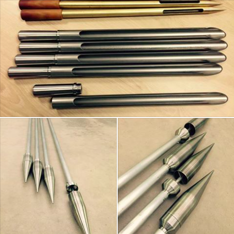 Manufacturing of hand tools for soil sampling